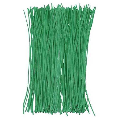 QWEPU 150 PCS 15 cm Corbata de jardín, Garden Twist Tie Planta...
