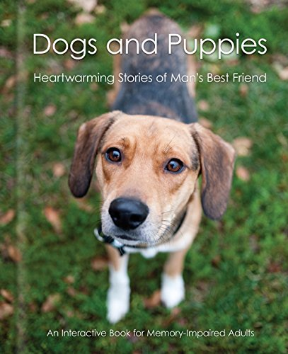 Dogs and Puppies - Alzheimer's / Dementia / Memory Loss Activity Book for Patients and Caregivers