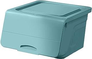 HLYT-0909 Boîte de rangement Boîte de rangement de jouets, boîtier de rangement domestique à ouverture frontale, boîte de ...