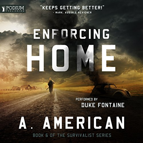 Enforcing Home audiobook cover art