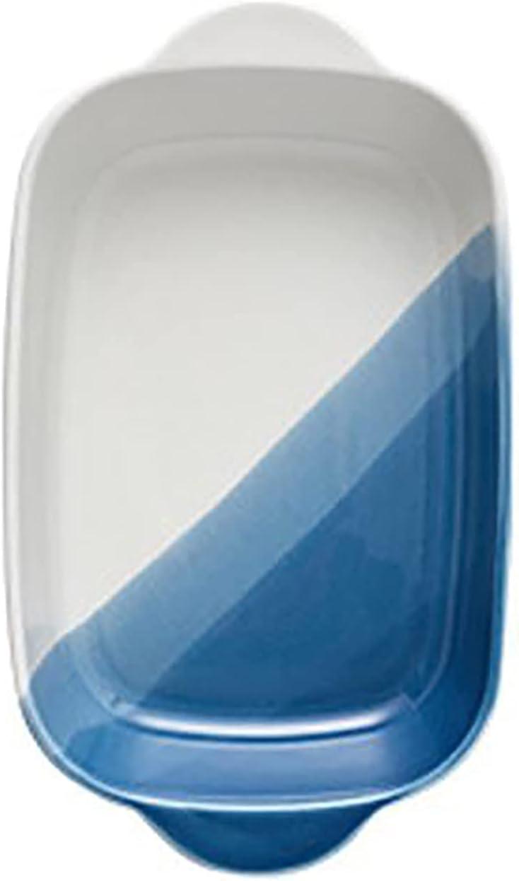 Discount is online shop also underway JJINPIXIU 1 Piece of Nordic B Ceramic Creative Bakeware Gradient