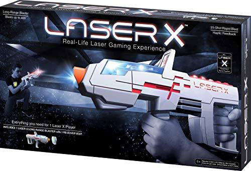 Laser X- Juego de Blaster de Largo Alcance (NSI Products