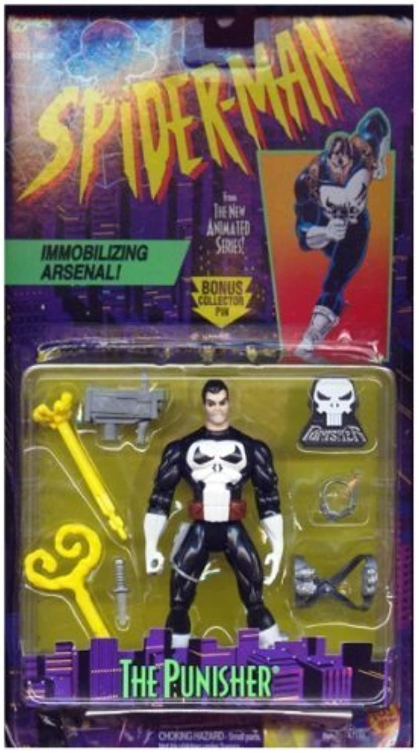Spider-Man  The Animated Series   Punisher Action Figure by Spider-Man