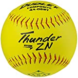 Dudley ASA Thunder Hycon Zn Comp Slow Pitch 12' Softballs 12 Ball Pack
