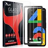 TAURI Cristal Templado Google Pixel 4A,Google Pixel 4A Protector de Pantalla,Google Pixel 4A Vidrio Templado,[9H Dureza] [HD Film] [Resistente a rayones] [Fácil de Instalar] - [3 Pack]