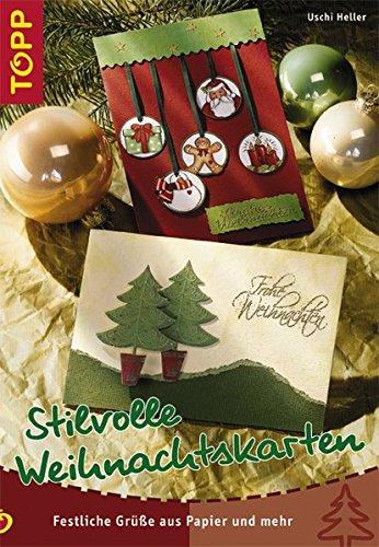 Stilvolle Weihnachtskarten: Festliche Grüße aus Papier und mehr