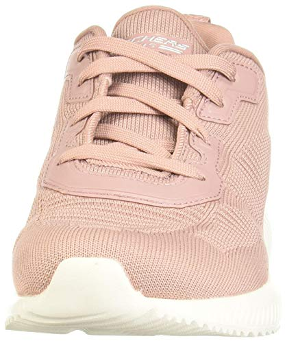 51vAGBfshBL - Skechers Women's Bobs Squad-Tough Talk Sneakers