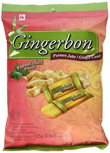 GINGERBON Ingwer-Pfefferminz Bonbons,125 g