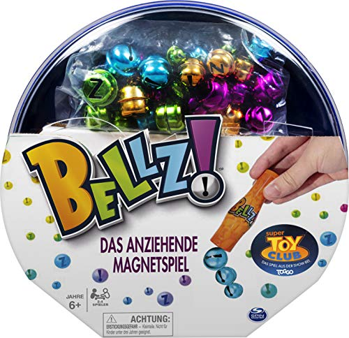 Spin Master Games 6053027 - Bellz! Das anziehende Magnetspiel für die ganze Familie, 2 - 4 Spieler ab 6 Jahren