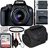 Canon EOS 4000D DSLR Camera with 18-55mm III Lens & Starter Accessory Bundle