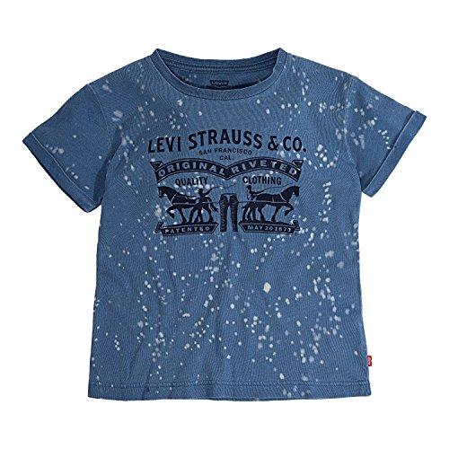 Levi's Little Girls' Graphic Logo T-Shirt, Kingston, 6X