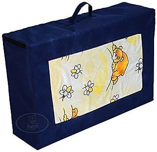 Best For Kids Madrass för resesängen 120 x 60 x 6 cm inkl. Transportväska barnmadrass med TÜV, resesängmadrass med bärväska