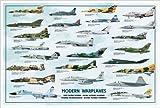 Modern Warplanes Print Poster