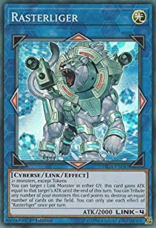 Yu-Gi-Oh! - Rasterliger - FIGA-EN047 - Super Rare - 1st Edition - Fists of The Gadgets
