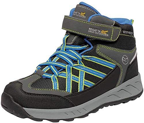 Regatta Unisex Samaris V Mid Jnr Walking Shoe, Briar/FrBlue, 38 EU