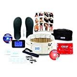 DR-HO'S 2-in-1 Decompression Belt Deluxe Package - for Lower Back Pain Relief and Lumbar Support - (Includes DR-HO'S Pain Therapy System Pro) and 1 Year Warranty - Size A (25-41 Inches)