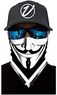 VulgrCo Face Series Original Fishing Hunting Outdoor Neck Gaiter Face Armor Neck Protector Mask Bandana Headband for Men a...