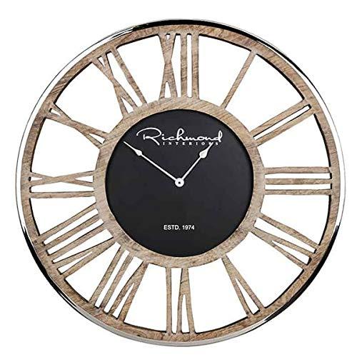 Richmond Interiors - Wanduhr - Uhr - Johnson - Maße (ØxT): 75 x 5 cm