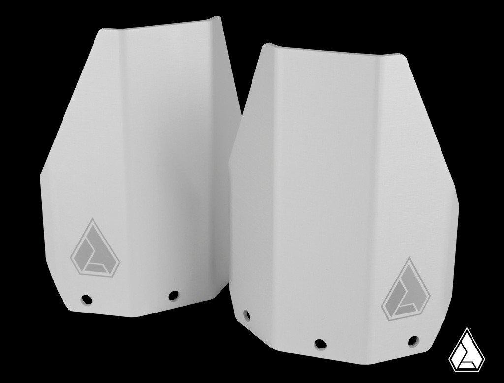 Transparent Blue Hose /& Stainless Banjos Pro Braking PBF6008-TBL-SIL Front Braided Brake Line