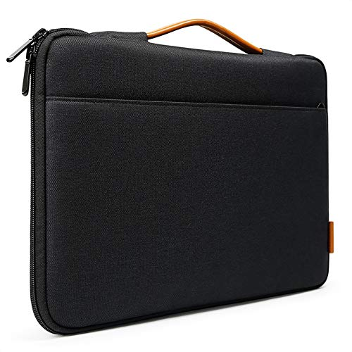 Inateck 13-13.3 Inch Laptop Sleeve Case Bag Briefcase Compatible with 13 Inch MacBook Air 2010-2020, MacBook Pro 13 2012-2019/2020, MacBook Air/MacBook Pro M1 2020, Surface Pro X/7/6/5/4/3 - Black