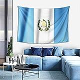 Wandteppich im Vintage-Stil mit Guatemala-Flagge, Bohemian-Stil, Wandbehang, Tischdecken – Dekorationen für Zuhause, Kunstdecke für Wohnzimmer, Schlafzimmer, Schlafsaal, 101,6 x 152,4 cm