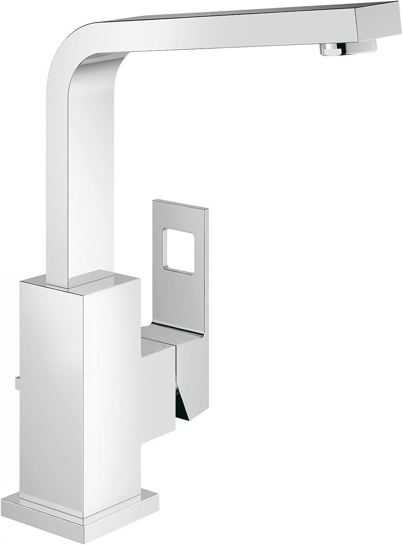 Grohe Eurocube     Badarmatur - Waschtischarmatur     hoher und schwenkbarer Auslauf     23135000
