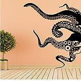 Adesivo Murale Tentacolo Di Polpo Decalcomania Della Parete Decorazione Domestica, Tatuaggio Rimovibile A Parete In Pvc Per La Decorazione Del Soggiorno