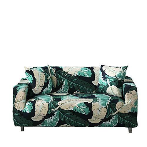 Yunchengyunxiangtong Stretch Couch All Inclusive Einzel DREI-Personen-Kombination Wohnzimmer-Sofa Tuch Pad Printed Stretch-Sofa-Abdeckung (Size : Triple)