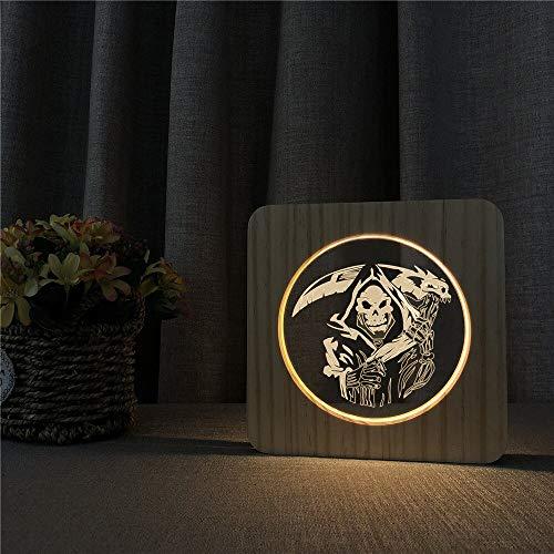 Lámpara de Grabado de Control de Interruptor de luz de mesi