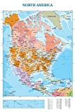 Educational - Bildung Landkarte Nordamerika - Map - Map of