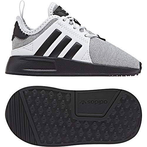 adidas Unisex Baby X_PLR EL Sneaker, Grau (Light Grey Heather/Core Black/Footwear White 0), 27 EU