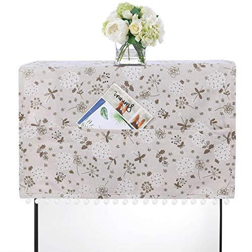 VINGVO Cubierta de Tabla, Elegante Cubierta Suave a Prueba de Polvo del refrigerador, para el hogar del Accesorio de la Cocina del Restaurante(70 * 170cm 67x28inch)