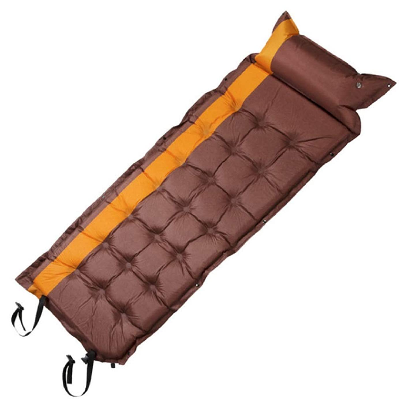 好戦的な陰謀巨人エアーマット キャンプマット キャンピングマット エアーベッド 自動膨張 連結可能 テント泊 車中泊 耐水加工 アウトドア キャンプ 寝袋 枕が付き 家族旅行