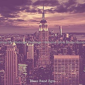 Backdrop for Vintage Feelings - Urbane Slow Blues Harmonica