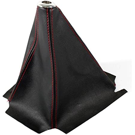 Details about  /HONDA JAZZ GETZ SOUL GEAR STICK BOOT GAITER COVER BLACK PU LEATHER UNIVERSAL