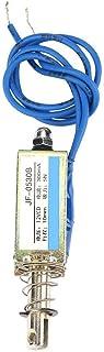 A través de control de automatización de electroimán de CC push-pull 6/12 / 24V 300mA 5N rango retráctil 10 mm(12V)