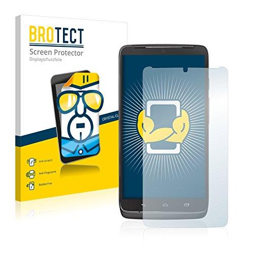 BROTECT Schutzfolie kompatibel mit Motorola Droid Turbo (2 Stück) klare Bildschirmschutz-Folie