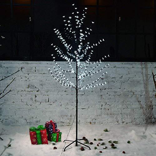 Hengda �rbol Luminoso Blanco frío �rbol Flor de Cerezo 22