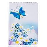GHC Pad Etuis & Covers pour Samsung Galaxy Tab 9,7 Pouces, Beau Film Peint Tablet Shell Couverture +...