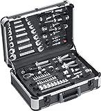 Werkzeugkoffer ELITE 129 teilig umfangreiches Werkzeug Werkzeugkasten Knarren