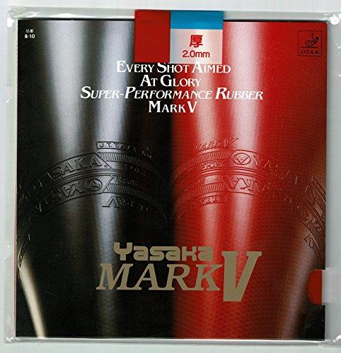 Yasaka Mark V Color-Red,Thickness-Max