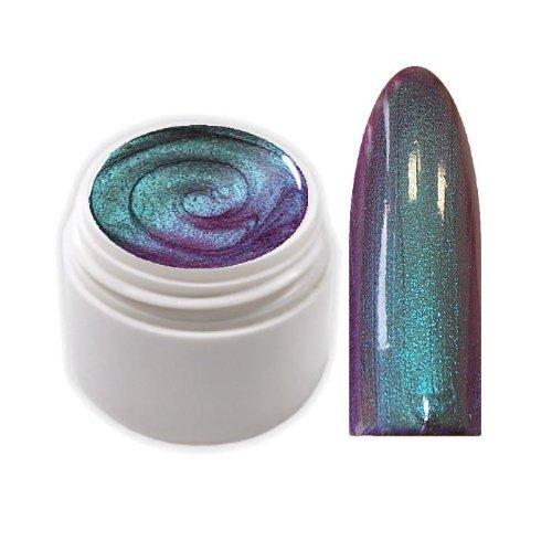 xxl-cosmetic Exclusive Flip Flop Farbgel UV Gel Petrol / Blau EG-5