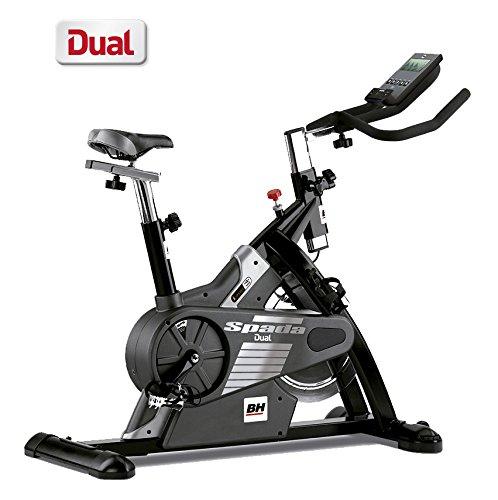 BH Fitness - Bicicleta Indoor Spada Dual