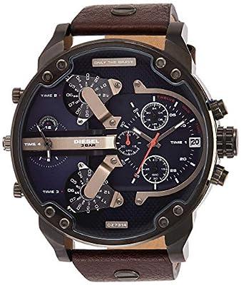 Diesel Herren-Uhren Analog Quarz One Size zum Angebotspreis.