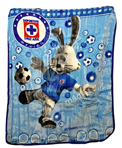 Colap Cruz Azul FC Baby Crib Blanket 43' X 55'