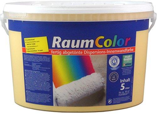 WILCKENS Raumcolor kreative Wandgestaltung PAPAYA MATT 5 Liter