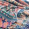 momomus Arazzo Mandala - Indiano - 100% Cotone, Grande, Multiuso - Arazzi da parete grandi - Stampe / Arredamento / Decorazioni per la Casa, Camera da letto o Muro - Telo Xxl, Blu B, 210x230 cm #3