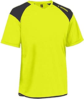 Diadora Grinta short-sleeve soccer goalkeeper jersey personalized with your name and number