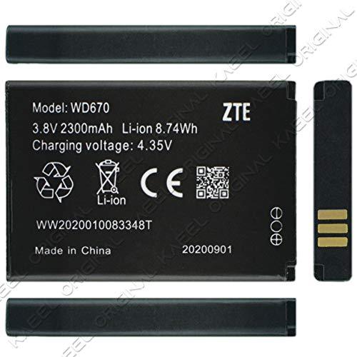 KAEEL ORIGINAL WD670 Battery {2300mAh} for Idea Airtel Hot Spot 4g Jiofi 2 M2S Jio WiFi Dongle Wireless Router Jio 4g Jio Fi2 Hotspot+ 3 Months Warranty.
