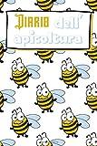 Diario dell'apicoltura: Diario per gli amanti delle api | Diario di bordo apicoltori | Libro di lavoro | Taccuino dell'inseguitore dell'ape del miele ... collega | Nizza Natale o compleanno Present